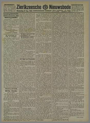 Zierikzeesche Nieuwsbode 1932-08-31
