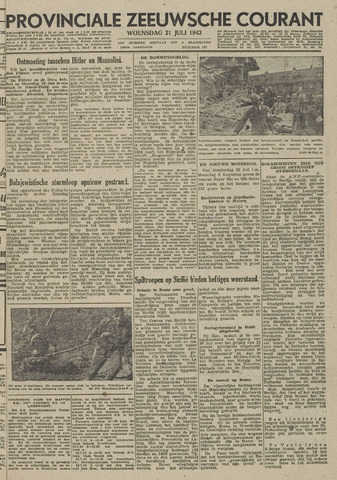 Provinciale Zeeuwse Courant 1943-07-21