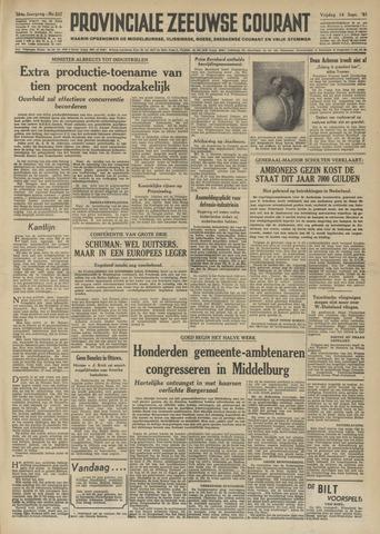 Provinciale Zeeuwse Courant 1951-09-14