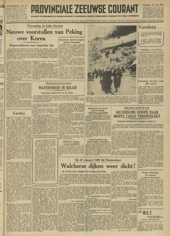 Provinciale Zeeuwse Courant 1951-01-23