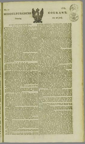 Middelburgsche Courant 1824-06-26