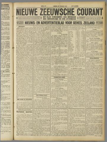 Nieuwe Zeeuwsche Courant 1927-02-22