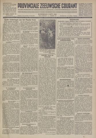 Provinciale Zeeuwse Courant 1941-10-01