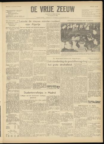 de Vrije Zeeuw 1956-02-10