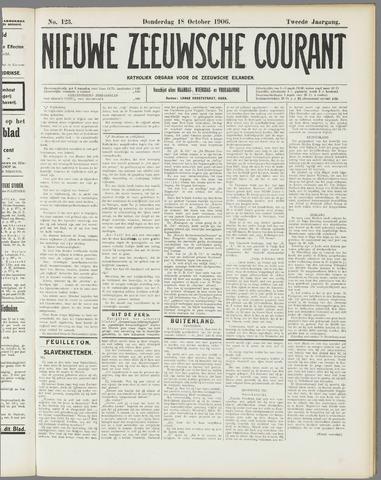 Nieuwe Zeeuwsche Courant 1906-10-18