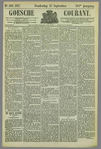 Goessche Courant 1917-09-13