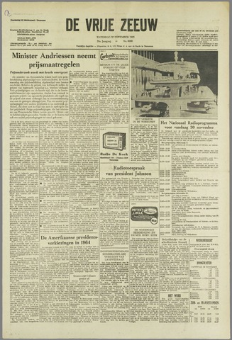 de Vrije Zeeuw 1963-11-30