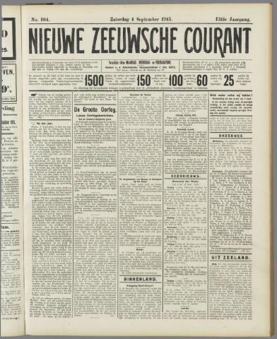 Nieuwe Zeeuwsche Courant 1915-09-04