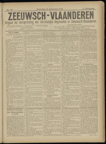 Luctor et Emergo. Antirevolutionair nieuws- en advertentieblad voor Zeeland / Zeeuwsch-Vlaanderen. Orgaan ter verspreiding van de christelijke beginselen in Zeeuwsch-Vlaanderen 1918-08-31
