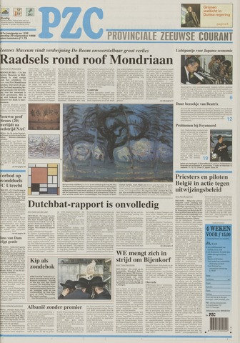 Provinciale Zeeuwse Courant 1998-09-29