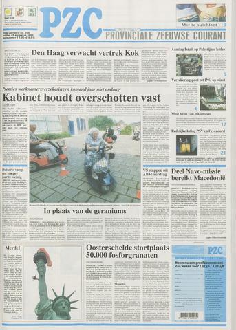 Provinciale Zeeuwse Courant 2001-08-24