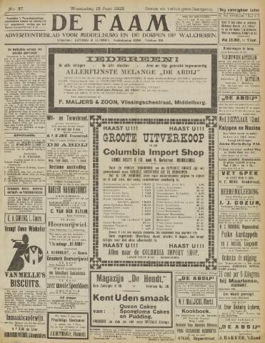 de Faam en de Faam/de Vlissinger 1923-06-13