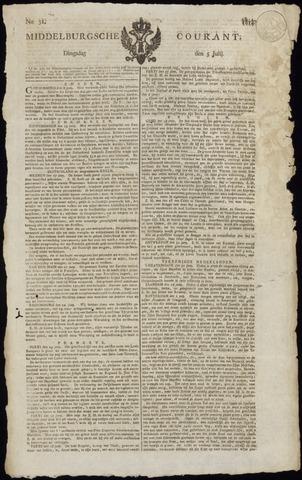 Middelburgsche Courant 1814-07-05