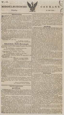 Middelburgsche Courant 1834-05-27