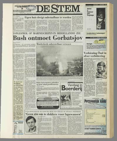 de Stem 1989-11-01