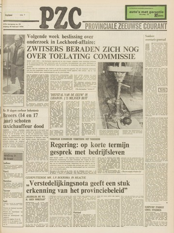 Provinciale Zeeuwse Courant 1976-02-20