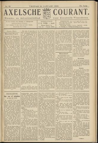 Axelsche Courant 1936-01-24