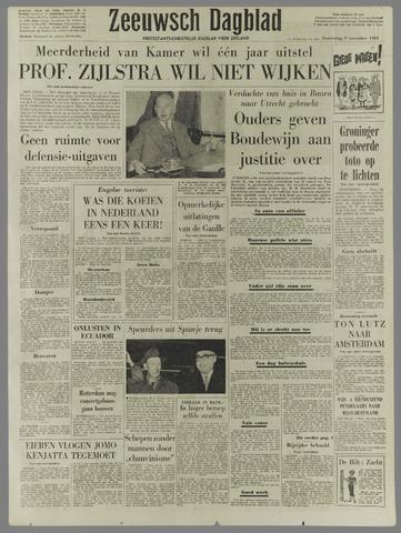 Zeeuwsch Dagblad 1961-11-09