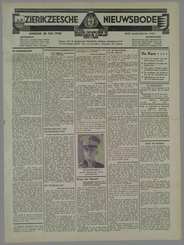 Zierikzeesche Nieuwsbode 1940-07-30