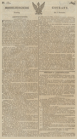 Middelburgsche Courant 1827-11-03
