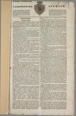 Vlissingse Courant 1836