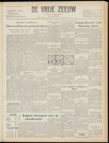 de Vrije Zeeuw 1955-02-12