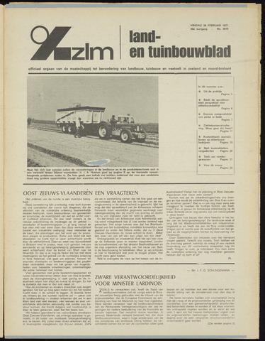 Zeeuwsch landbouwblad ... ZLM land- en tuinbouwblad 1971-02-26