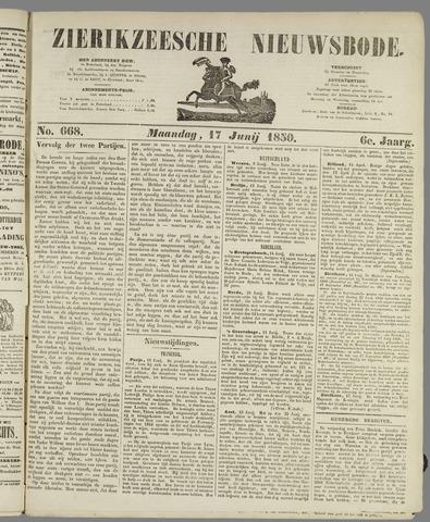 Zierikzeesche Nieuwsbode 1850-06-17