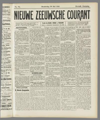 Nieuwe Zeeuwsche Courant 1911-07-20