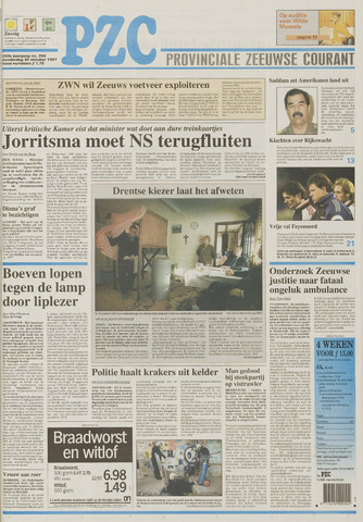 Provinciale Zeeuwse Courant 1997-10-30