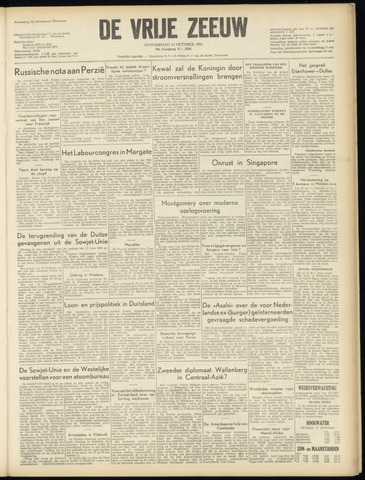 de Vrije Zeeuw 1955-10-13