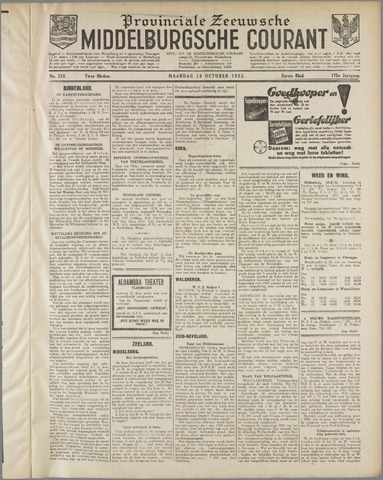 Middelburgsche Courant 1932-10-10