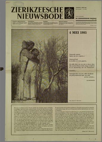 Zierikzeesche Nieuwsbode 1985-05-03