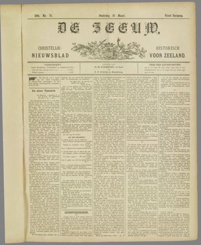 De Zeeuw. Christelijk-historisch nieuwsblad voor Zeeland 1896-03-26