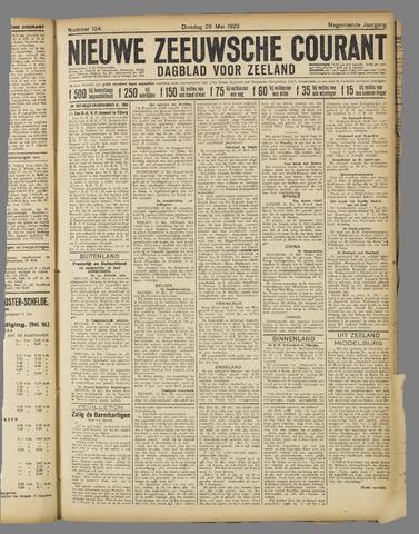 Nieuwe Zeeuwsche Courant 1923-05-29