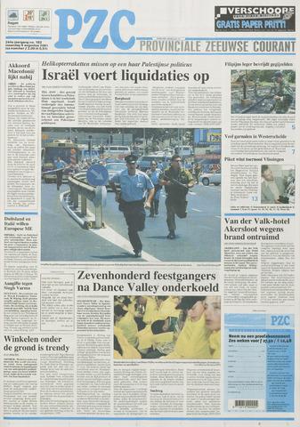 Provinciale Zeeuwse Courant 2001-08-06