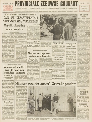 Provinciale Zeeuwse Courant 1965-04-02