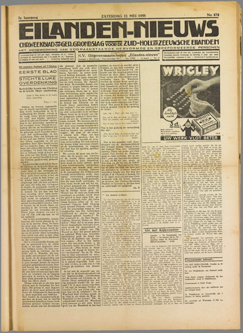 Eilanden-nieuws. Christelijk streekblad op gereformeerde grondslag 1935-05-11