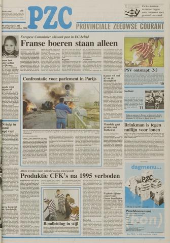 Provinciale Zeeuwse Courant 1992-11-26