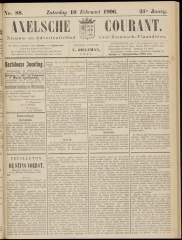 Axelsche Courant 1906-02-10