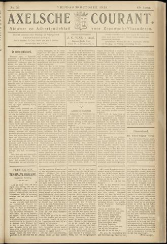 Axelsche Courant 1925-10-30