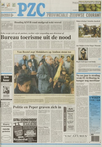 Provinciale Zeeuwse Courant 1999-01-29