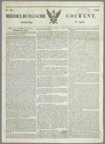 Middelburgsche Courant 1862-04-17
