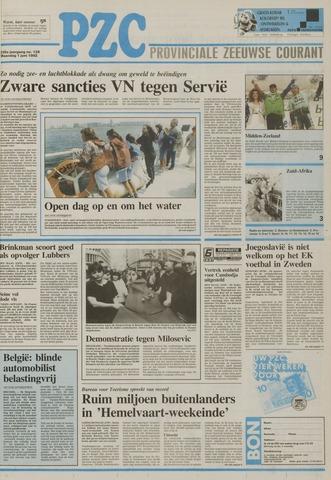 Provinciale Zeeuwse Courant 1992-06-01