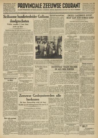 Provinciale Zeeuwse Courant 1950-07-06