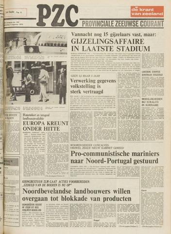 Provinciale Zeeuwse Courant 1975-08-07