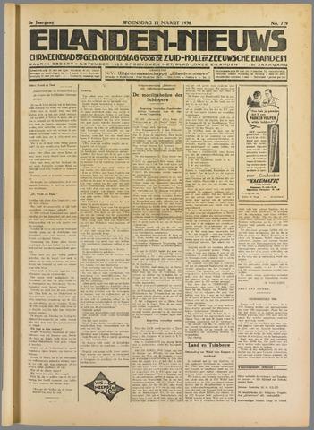 Eilanden-nieuws. Christelijk streekblad op gereformeerde grondslag 1936-03-11