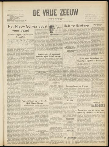 de Vrije Zeeuw 1957-02-26