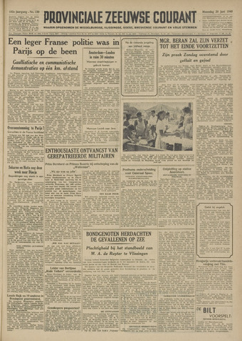 Provinciale Zeeuwse Courant 1949-06-20