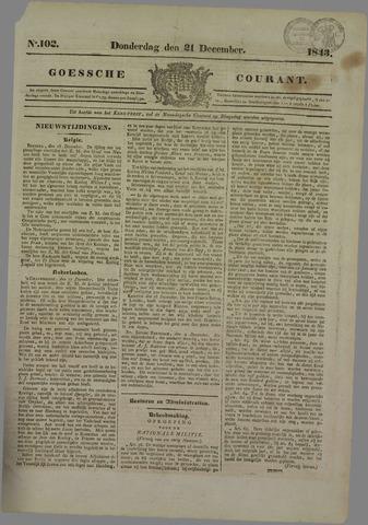 Goessche Courant 1843-12-21